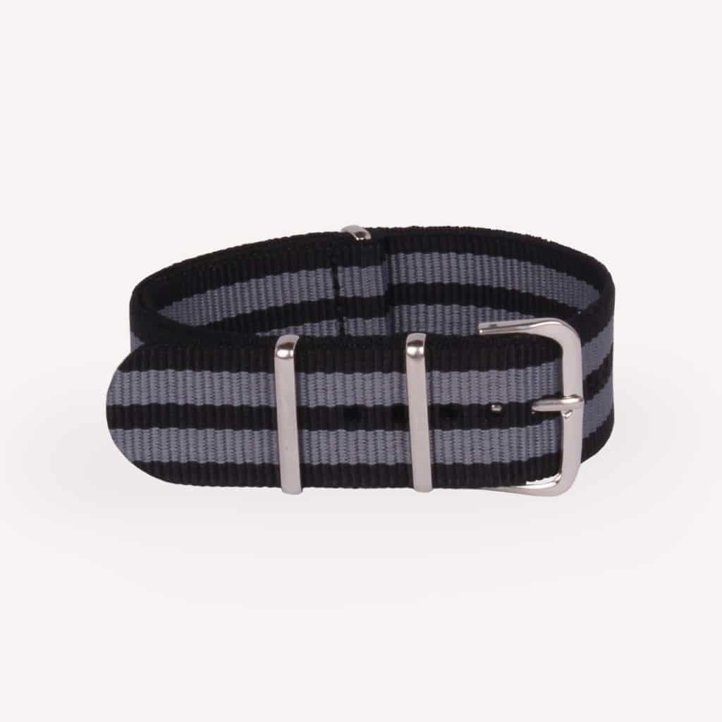 OMEGA NATO Strap In Five Stripe