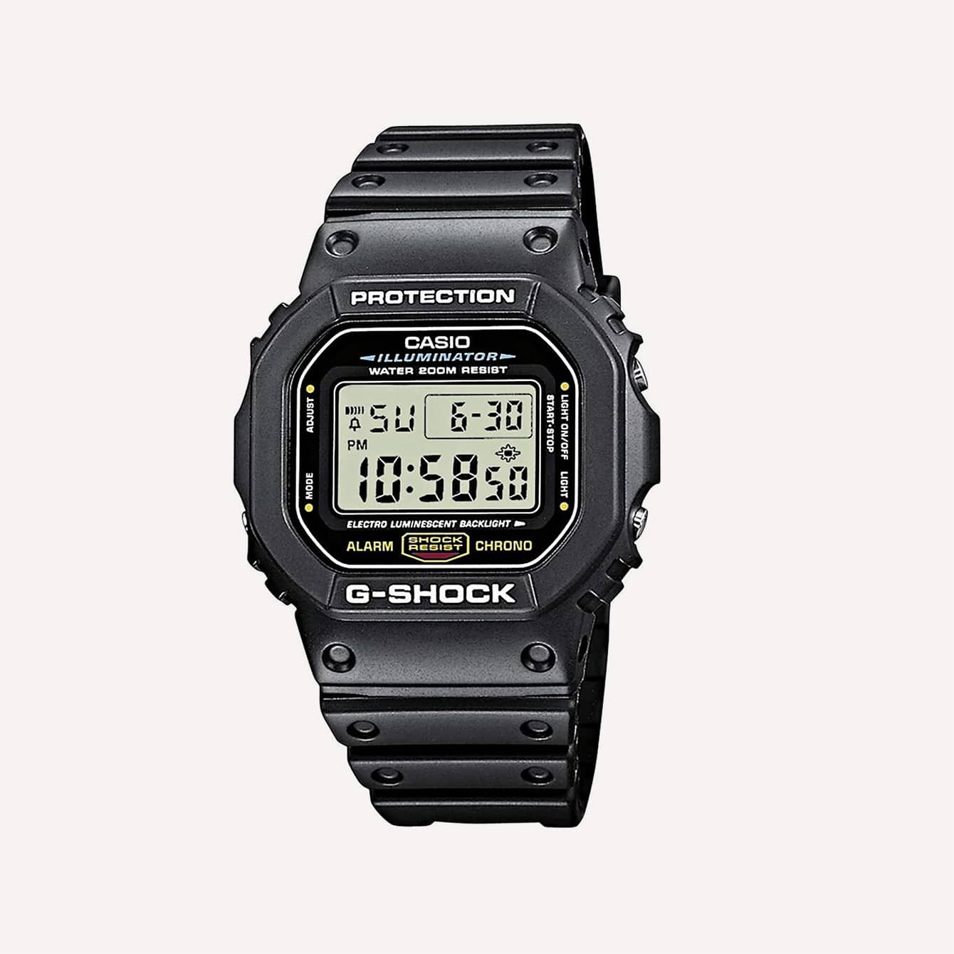Casio Men s G Shock Quartz Watch with Resin Strap Black 20 Model DW5600E 1V