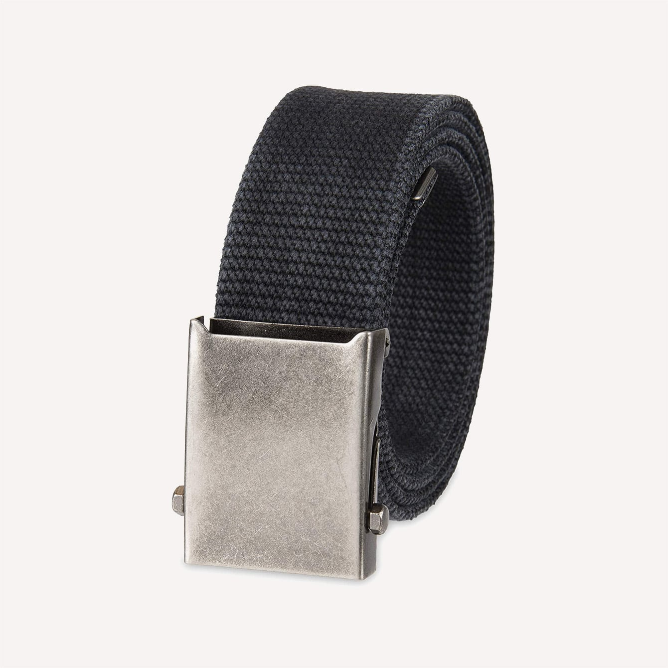 Columbia Men s Military Belt Adjustable Cotton Strap and Metal Buckle