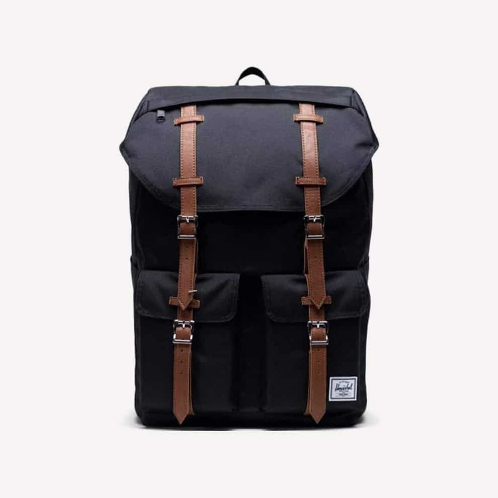 Herschel Buckingham Backpack Black Tan 33.0L