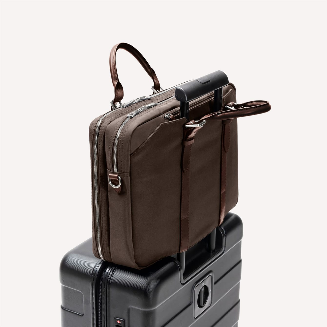 Stuart Lau The Cary Briefcase Holder Side View