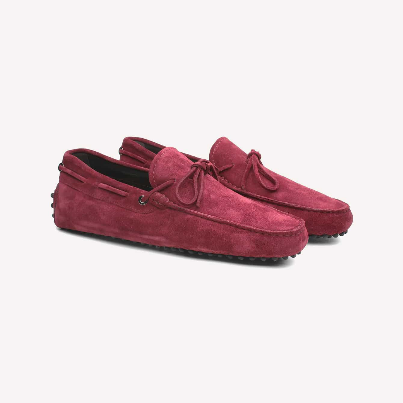 Aurelien Classic Gommino Driving Shoes Loafer Men Suede burgundy loafers drivingshoes
