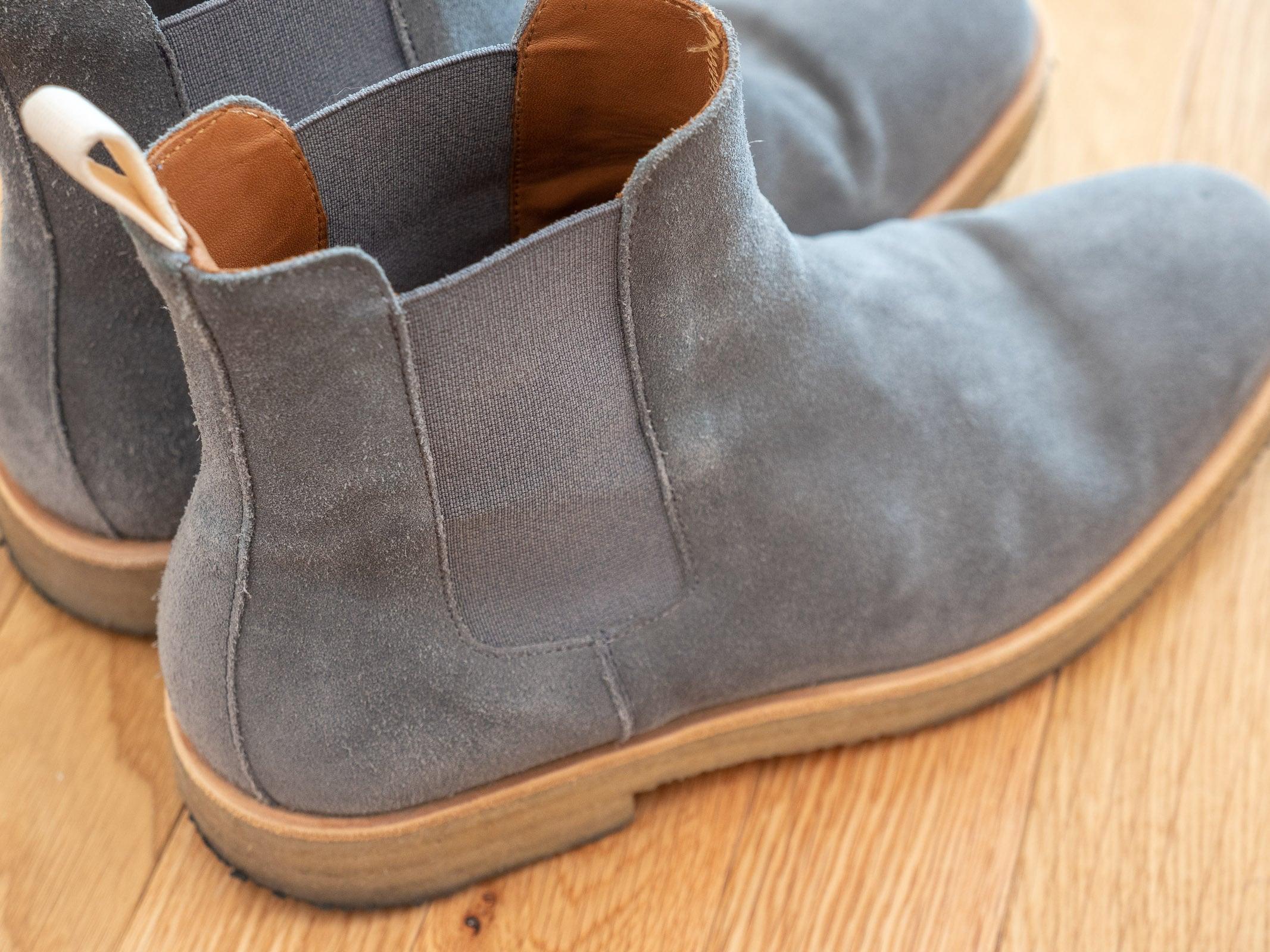Chelsea boot elastic side panel