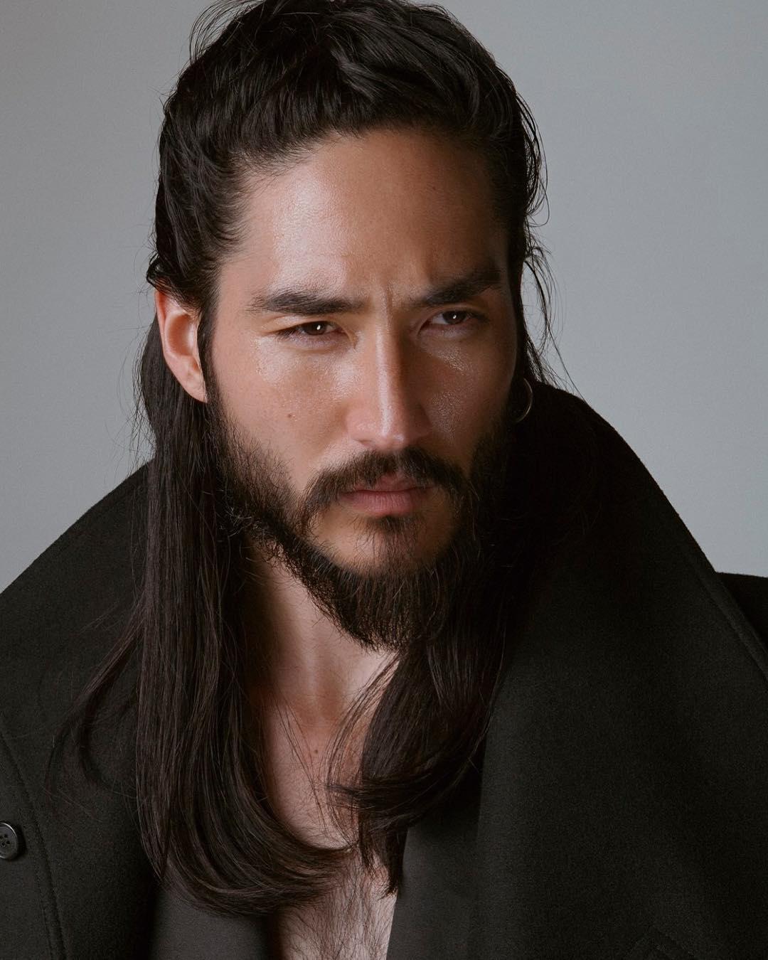 How to grow a beard asian man
