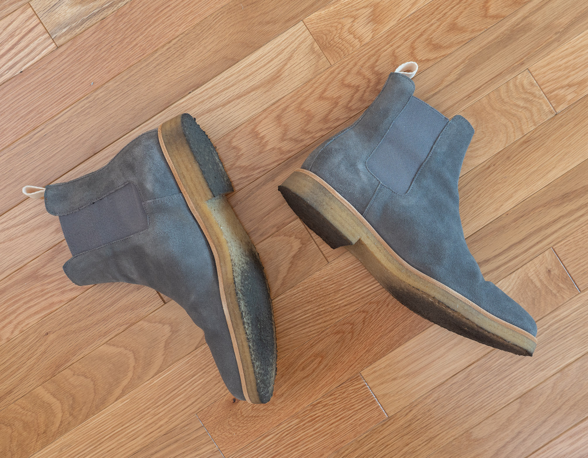 Oliver Cabell Chelsea boots grey
