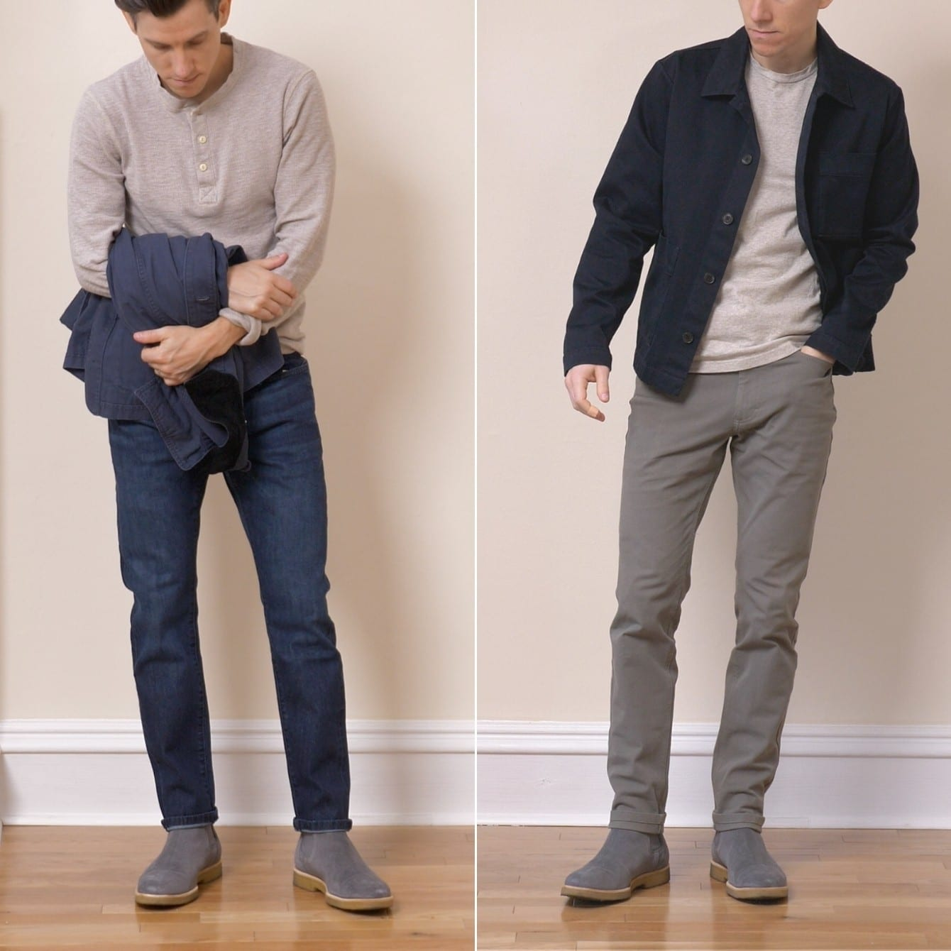 Oliver Cabell Chelsea boots outfits