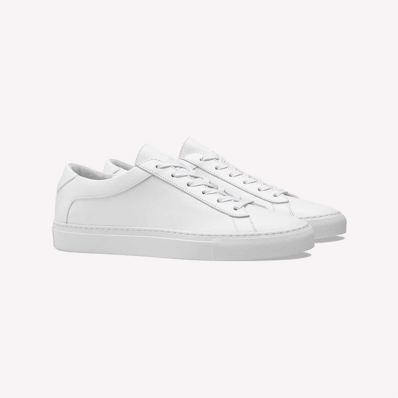 koio WHITE Unisex Capri Triple White Sneakers