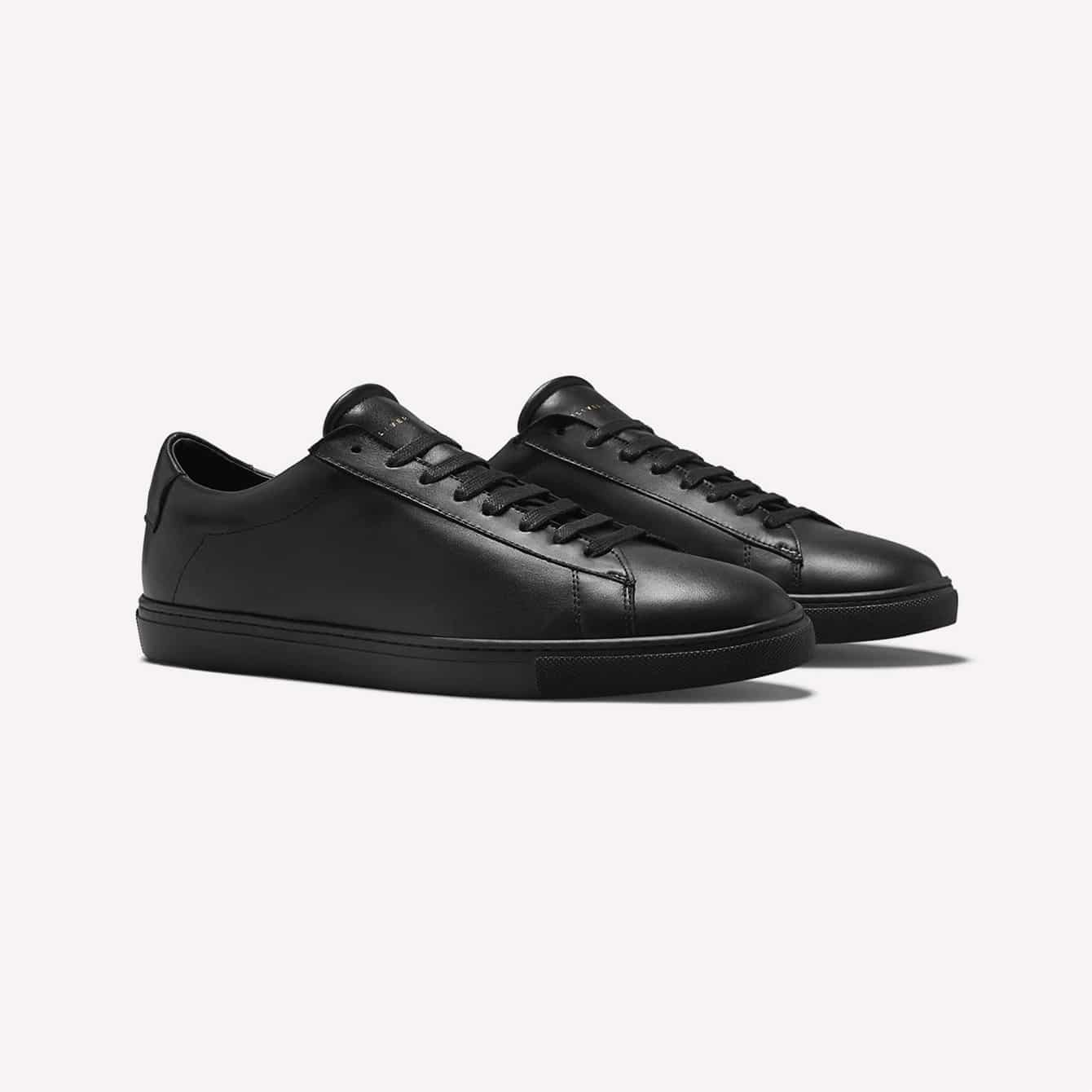Oliver Cabell Low 1 Black Sneakers