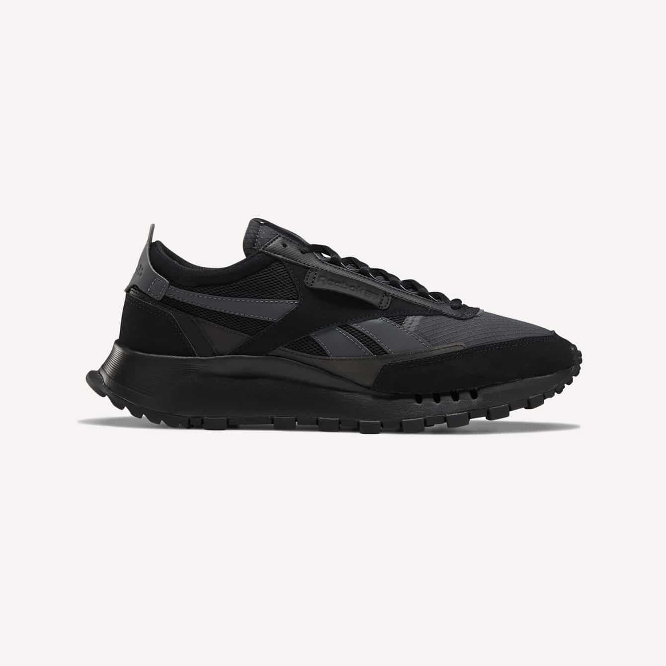 Reebok Classic Leather Legacy Shoes Black Sneakers