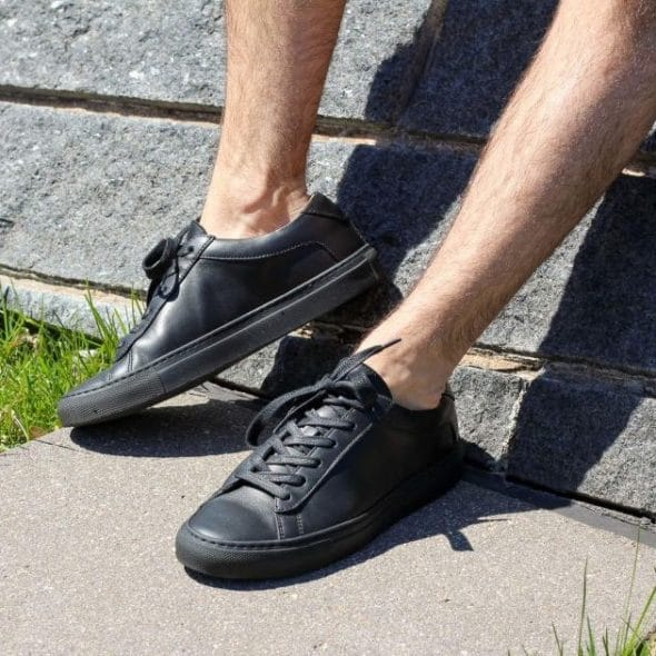 best black sneakers featured image