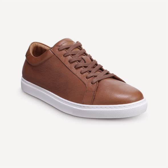 Best brown leather sneakers featured