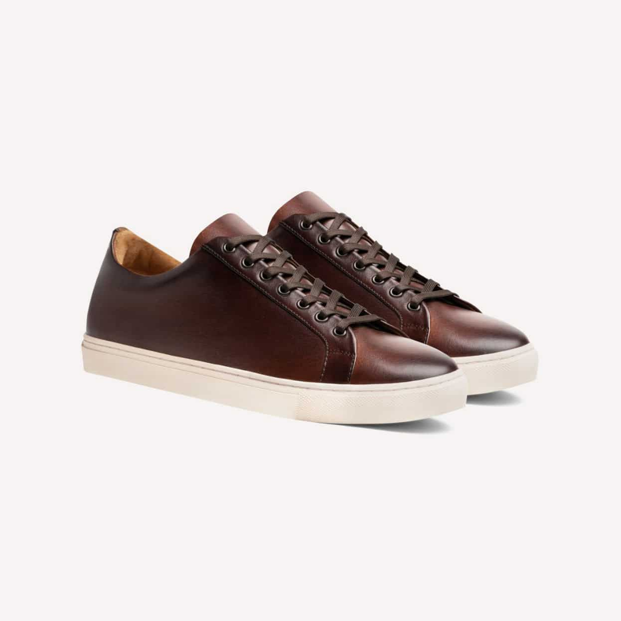 Thursday Boot Co. Premier Low Top Coffee Brown Sneakers