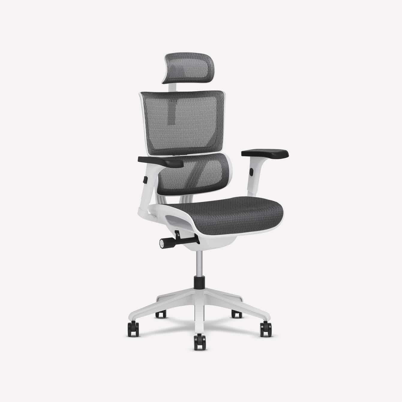 Xchair XS Vision Grey Small Mgmt Chair