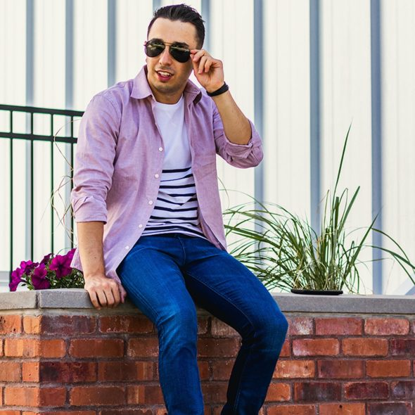 How to Wear Stripes for Men Featured Image