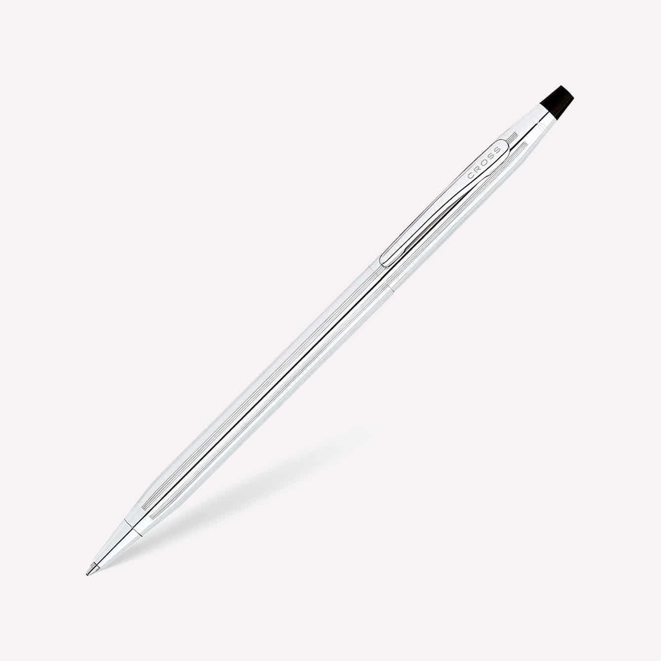 Cross Classic Century Lustrous Chrome Ballpoint Pen Model Number 3502